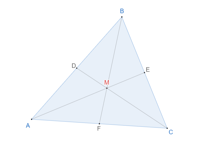 Центроид треугольника. 1