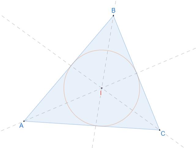 Инцентр треугольника. 1