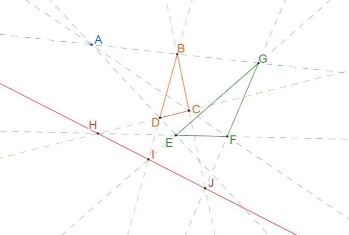 Теорема Дезарга. 1 подготовка к ОГЭ, ЕГЭ и олимпиадам по математике